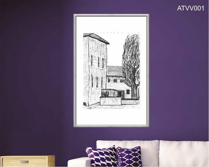 Quadro decorativo ATVV001- Por Vinicius Valduga