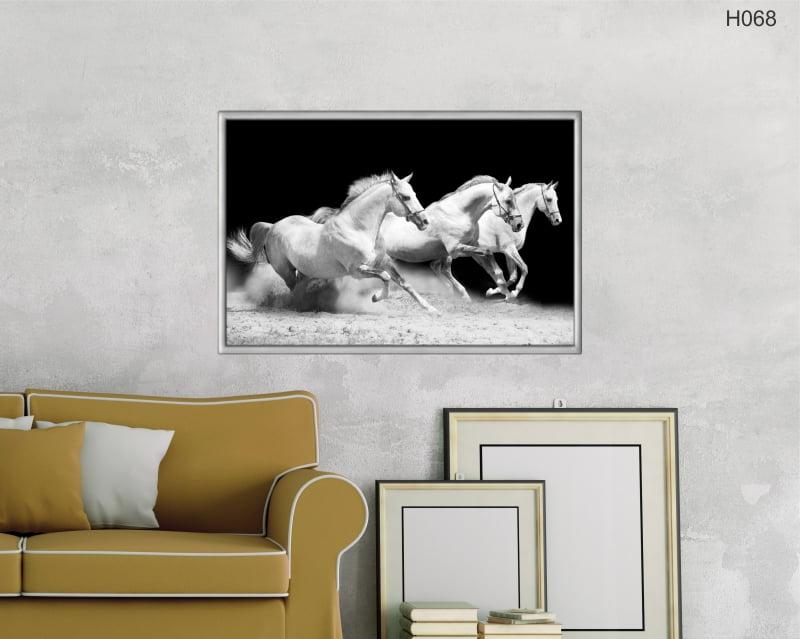 Quadro Decorativo Cavalos Correndo