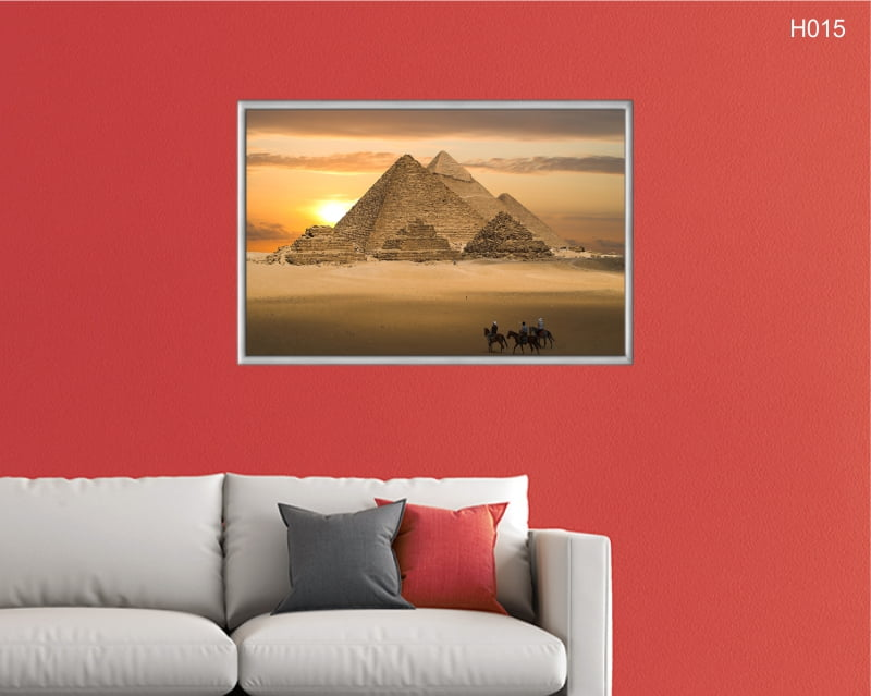 Quadro Decorativo Pirâmides