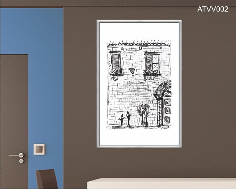 Quadro decorativo ATVV002- Por Vinicius Valduga