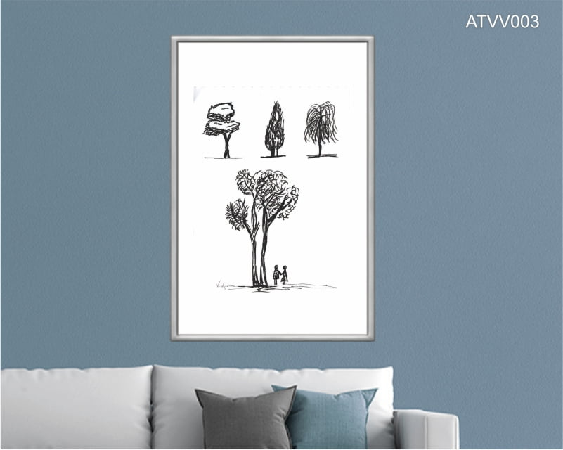 Quadro decorativo ATVV003- Por Vinicius Valduga