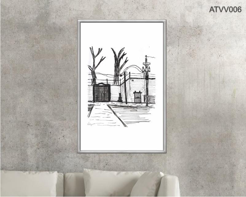 Quadro decorativo ATVV006- Por Vinicius Valduga