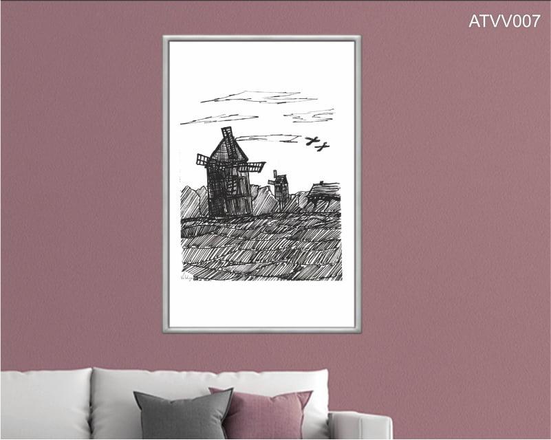 Quadro decorativo ATVV007- Por Vinicius Valduga