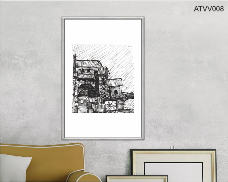 Quadro decorativo ATVV008- Por Vinicius Valduga