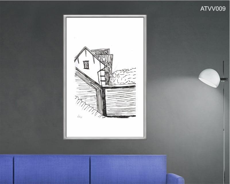Quadro decorativo ATVV009- Por Vinicius Valduga
