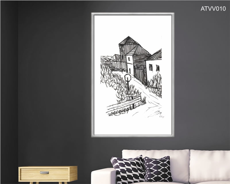 Quadro decorativo ATVV010- Por Vinicius Valduga