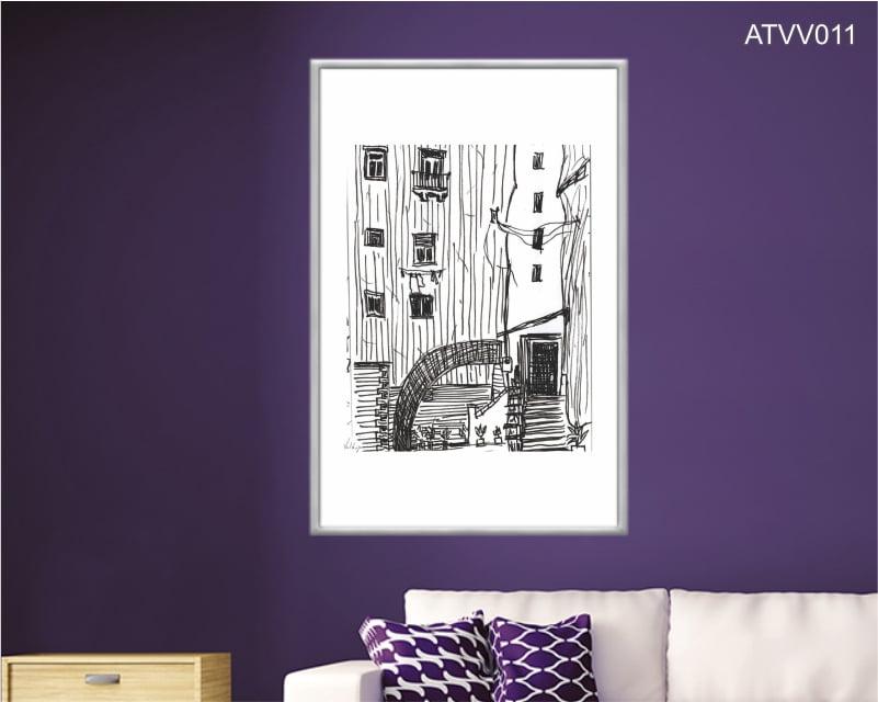 Quadro decorativo ATVV011- Por Vinicius Valduga