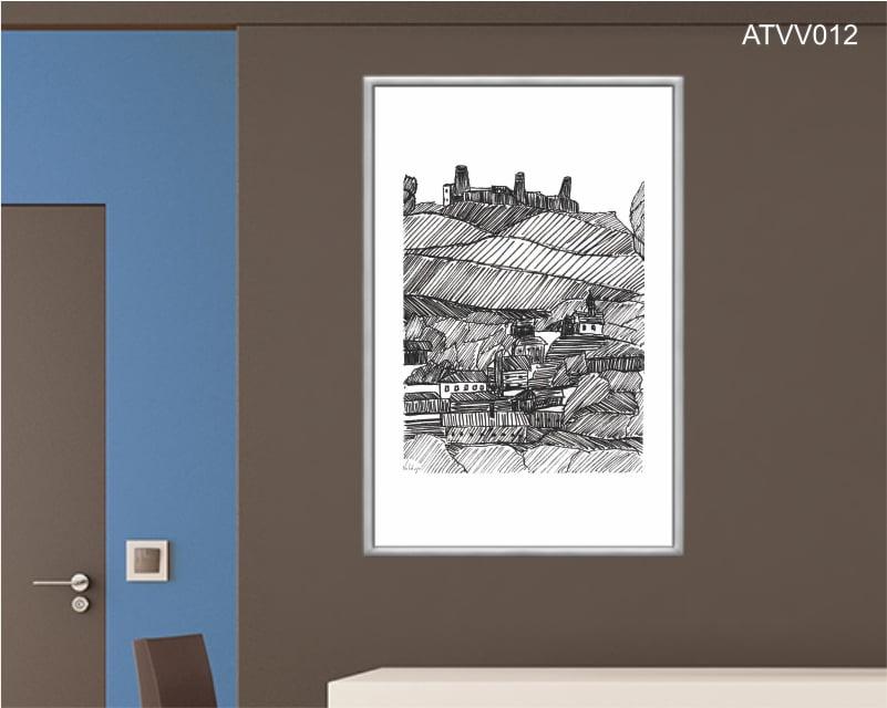 Quadro decorativo ATVV012- Por Vinicius Valduga