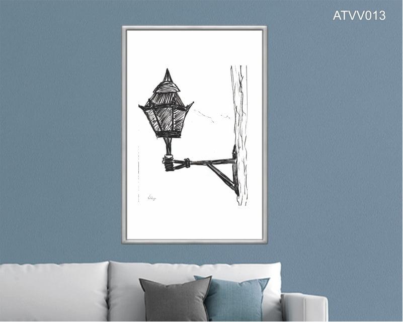 Quadro decorativo ATVV013- Por Vinicius Valduga