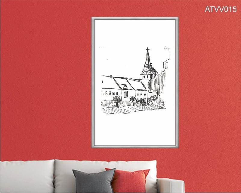 Quadro decorativo ATVV015- Por Vinicius Valduga