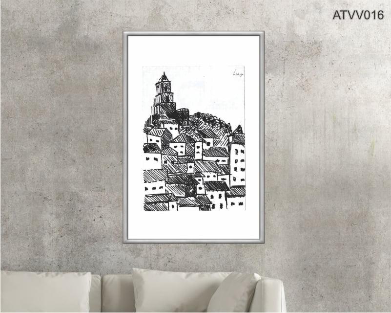Quadro decorativo ATVV016- Por Vinicius Valduga