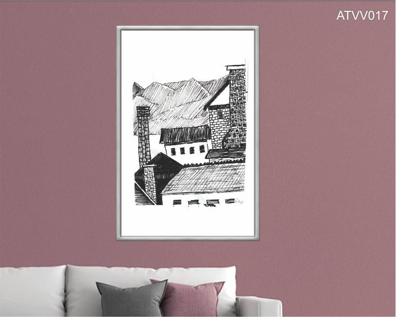 Quadro decorativo ATVV017- Por Vinicius Valduga