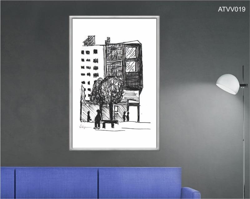 Quadro decorativo ATVV019- Por Vinicius Valduga