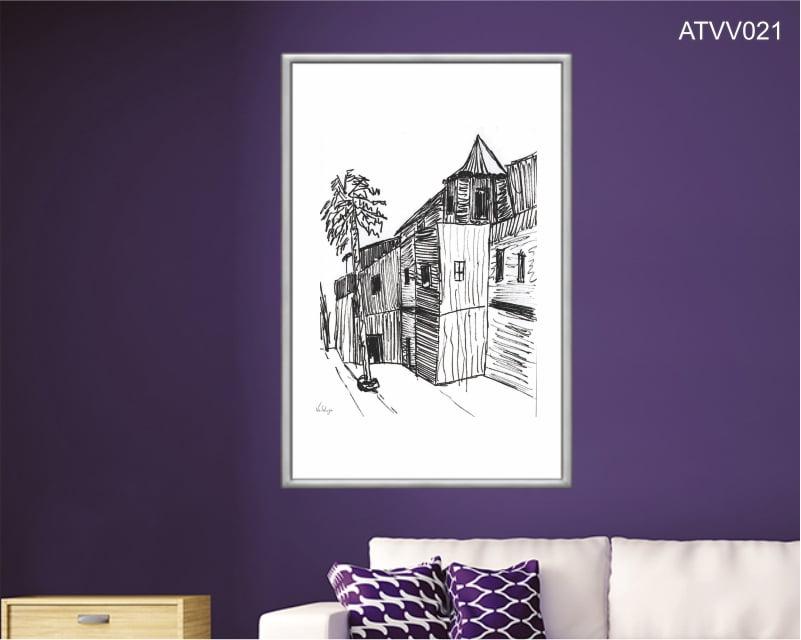 Quadro decorativo ATVV021- Por Vinicius Valduga