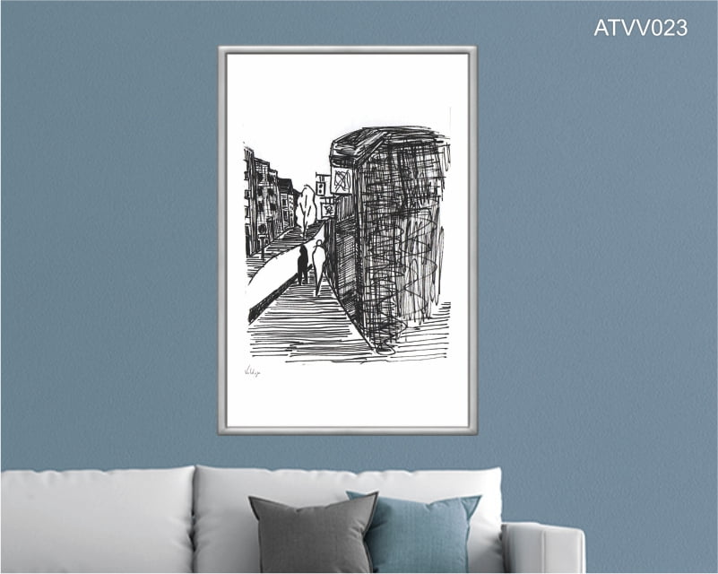 Quadro decorativo ATVV023- Por Vinicius Valduga