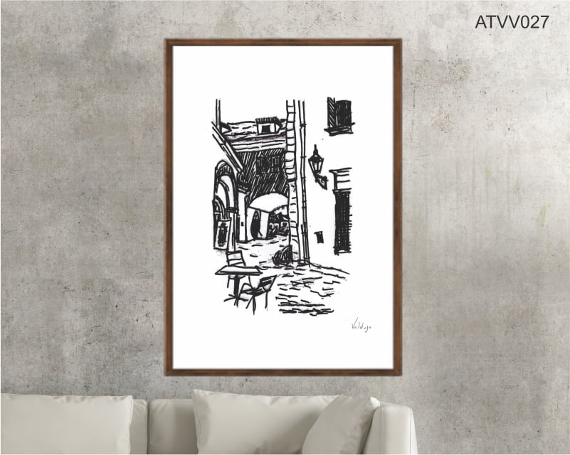 Quadro decorativo ATVV027- Por Vinicius Valduga