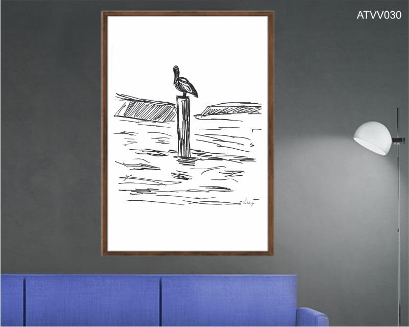Quadro decorativo ATVV030- Por Vinicius Valduga