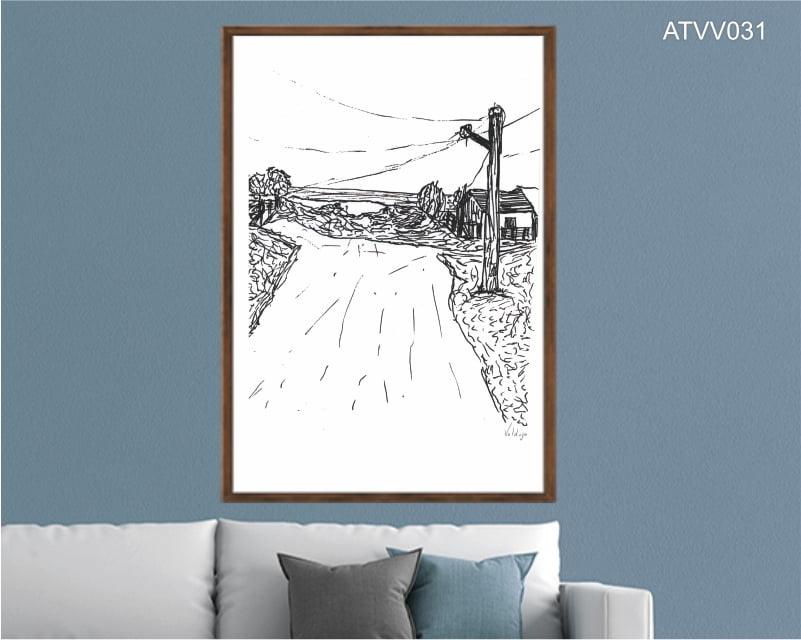 Quadro decorativo ATVV031- Por Vinicius Valduga