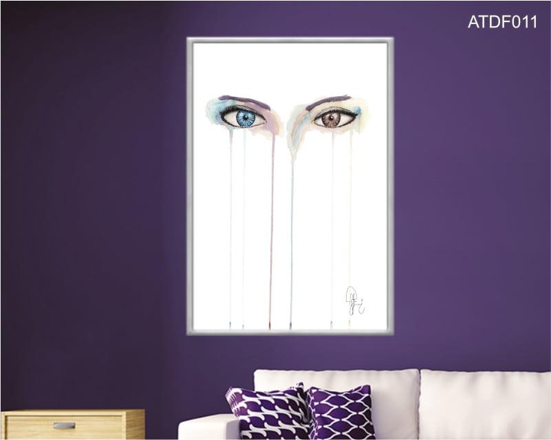 Quadro decorativo-Cor dos olhos-Por Dado Ferrari