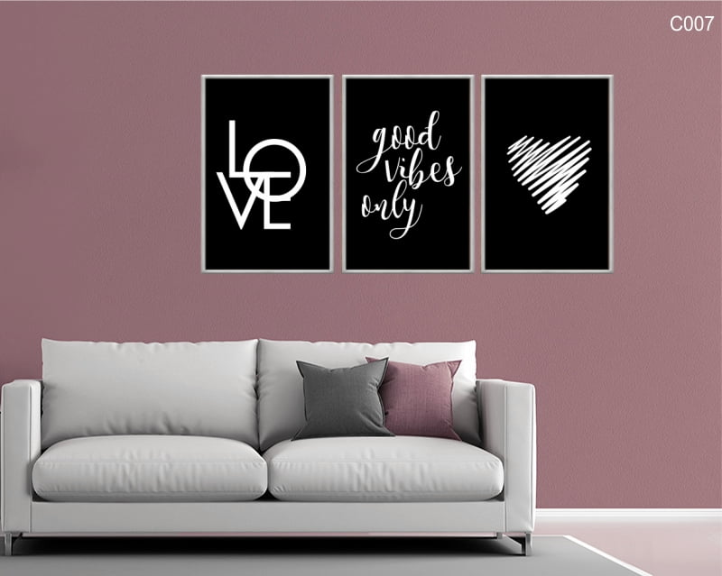 Conjunto de quadros - Good Vibes