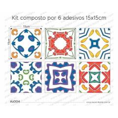 Adesivo Azulejo az004