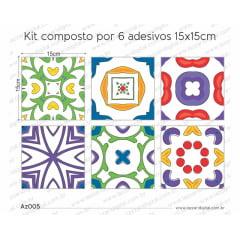 Adesivo Azulejo az005