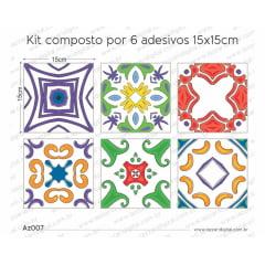 Adesivo Azulejo az007