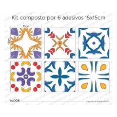 Adesivo Azulejo az008