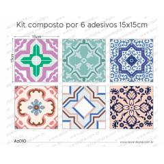 Adesivo Azulejo az010
