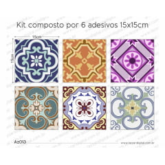 Adesivo Azulejo az013