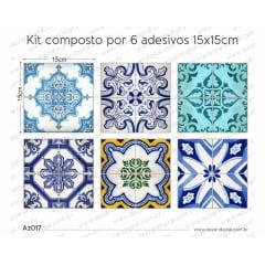 Adesivo Azulejo az017