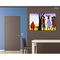 Quadro Decorativo African Art