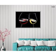 Quadro Decorativo Arte do Vinho