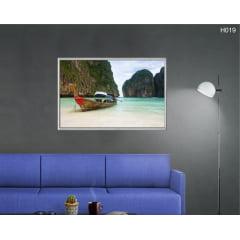 Quadro Decorativo Barco na Tailândia