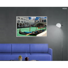 Quadro Decorativo Ponte de Rialto