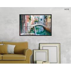 Quadro Decorativo Ponte em Veneza
