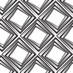 Papel de Parede Adesivo Abstrato Quadrados em Escala Preto e Branco