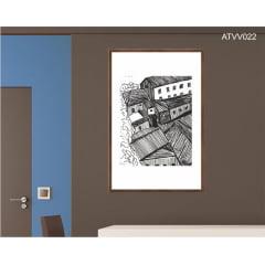 Quadro decorativo ATVV022- Por Vinicius Valduga