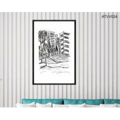 Quadro decorativo ATVV024- Por Vinicius Valduga