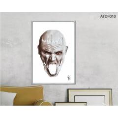 Quadro decorativo-Grito em branco-Por Dado Ferrari