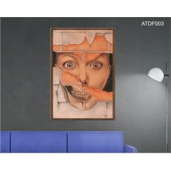 Quadro decorativo-Hole in my wall-Por Dado Ferrari