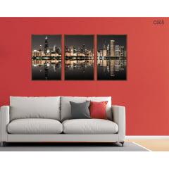 Conjunto de quadros - Cidade dos Sonhos