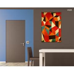 Quadro Decorativo Abstrato Colorido Contemporâneo