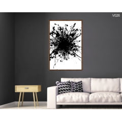 Quadro Decorativo Splash de Tinta