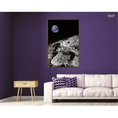 Quadro Decorativo Superfície da Lua
